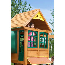 Load image into Gallery viewer, KidKraft Cloverdale Outdoor Wooden Playset