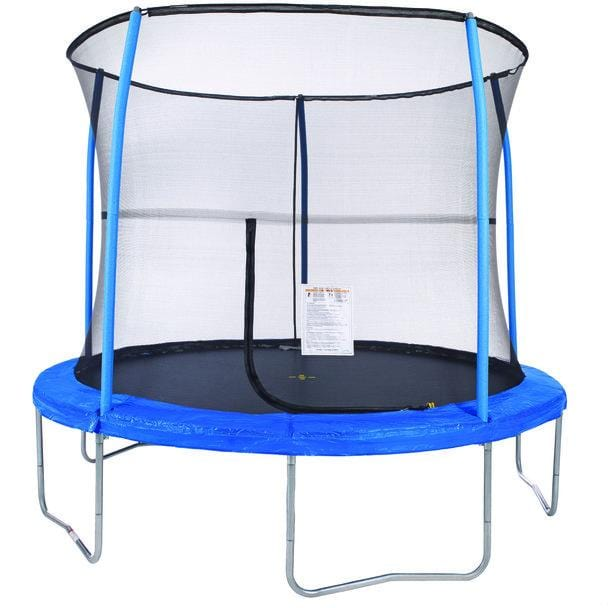 JumpKing 10' Round Trampoline with Enclosure Net Combo Set