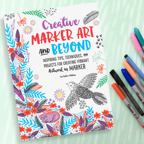 Creative Marker Art and Beyond - Cover