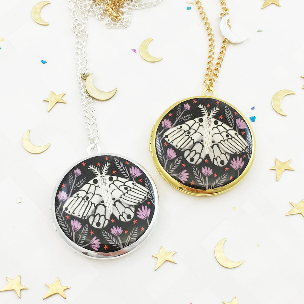 Creature of the Night Locket