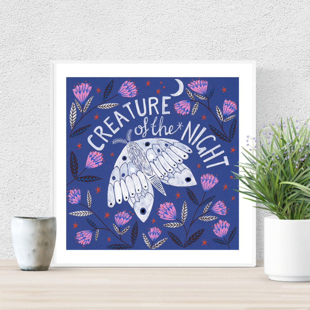 Creature of the Night Giclee Print