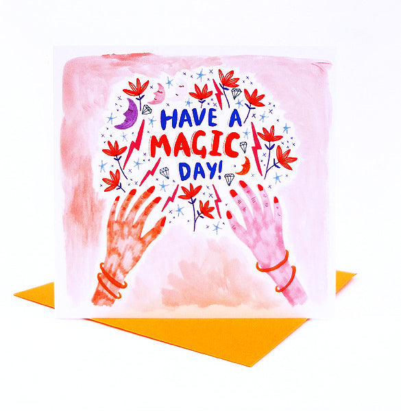 *NEW!* Magic Day Card