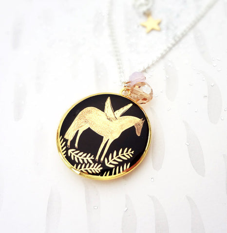 Pegasus Locket