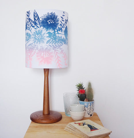 Limited Edition Ombré Bouquet Lampshade - Blue