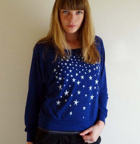 Dark is the Night Slouch Sweater