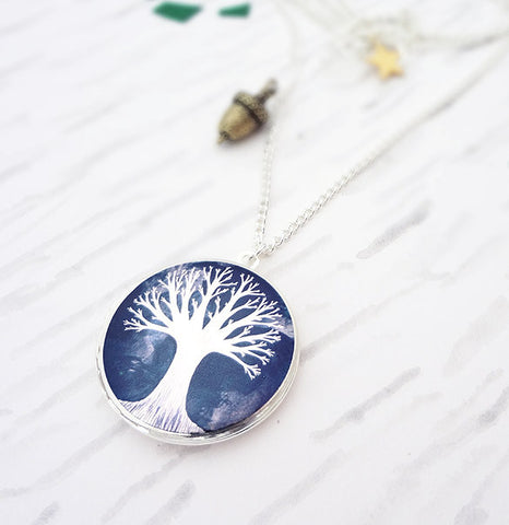 From Small Seeds Locket - Silver