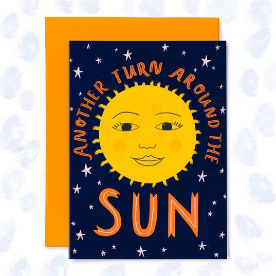 **NEW!** Another Turn Around the Sun Card