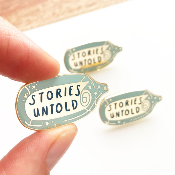 Limited Edition Stories Untold Enamel Pin Badge 2019 Edition
