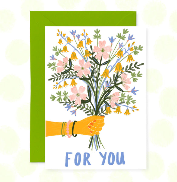 **NEW!** For You Greetings Card