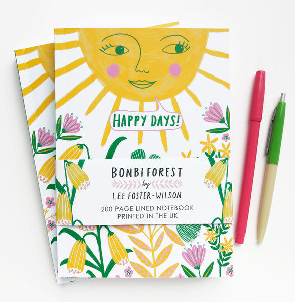 **NEW!** Happy Days Notebook
