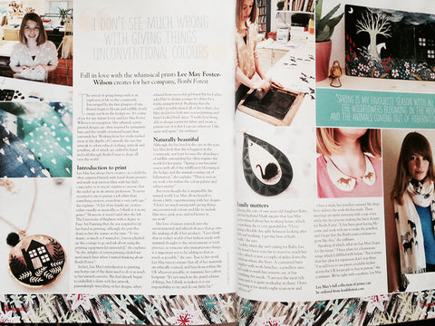 Homemaker Magazine Interview - 2014