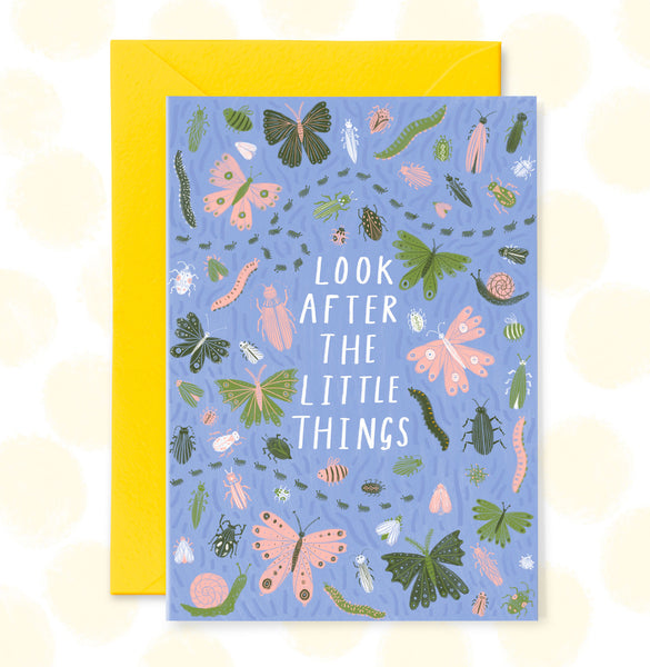 **NEW!** Look After the Little Things Greetings Card