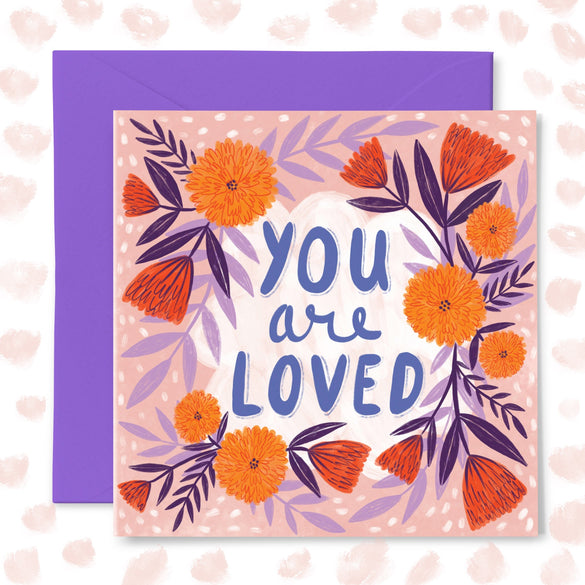 **NEW!** 'You Are Loved' Greetings Card