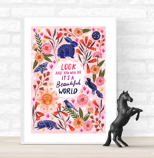 Beautiful World Poster
