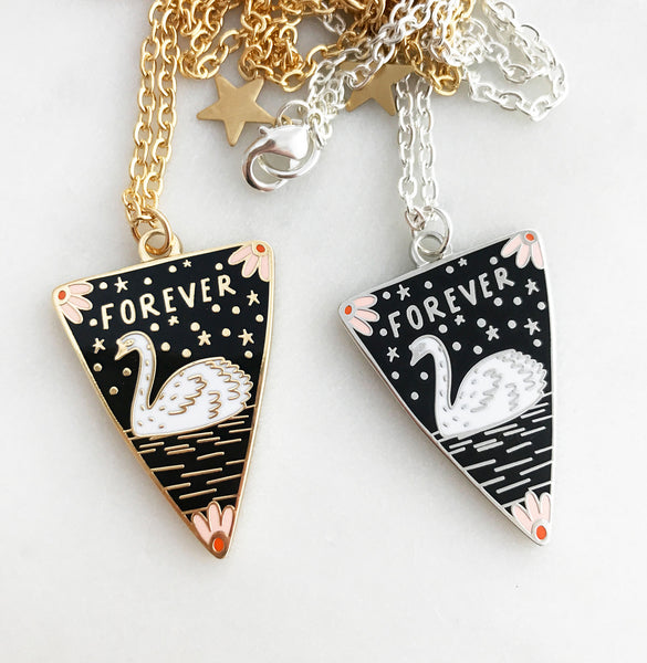 Forever Enamel Necklace