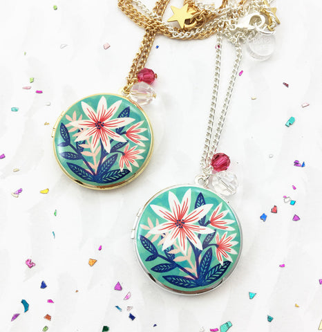 Limited Edition Indian Summer Locket - Mint