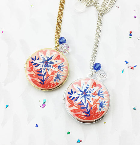 Limited Edition Indian Summer Locket - Pink