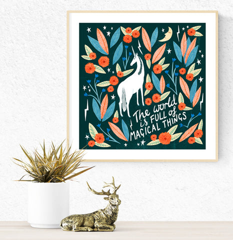 **NEW!** Limted Edition Magical Things Gicleé Print
