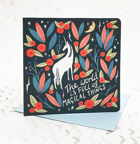 **NEW!** Magical Things Card