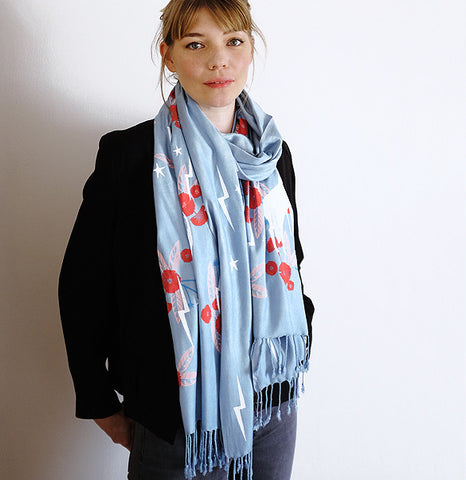 Limited Edition Totally Magic Scarf - Blue - 2017
