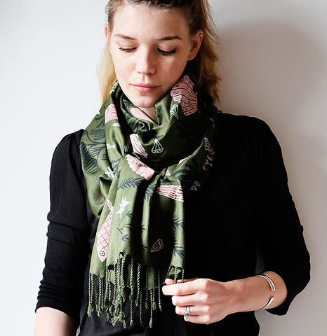 **NEW!** Limited Edition Stories Untold Scarf - Green