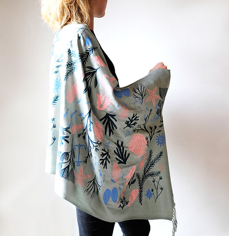 **NEW!** Limited Edition Stories Untold Scarf - Grey
