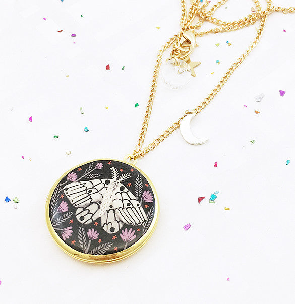 Limited Edition Creature of the Night Locket - Gold - 2017