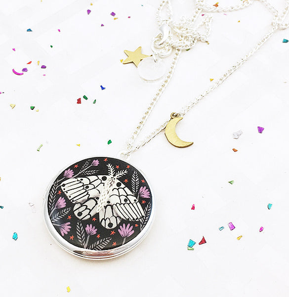 Limited Edition Creature of the Night Locket - Silver - 2017