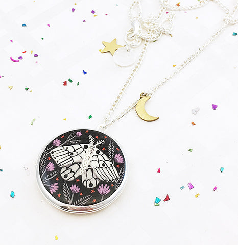 *NEW!* Limited Edition Creature of the Night Locket - Silver