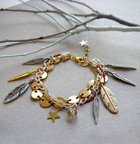 Feather Nest Bracelet - 2009