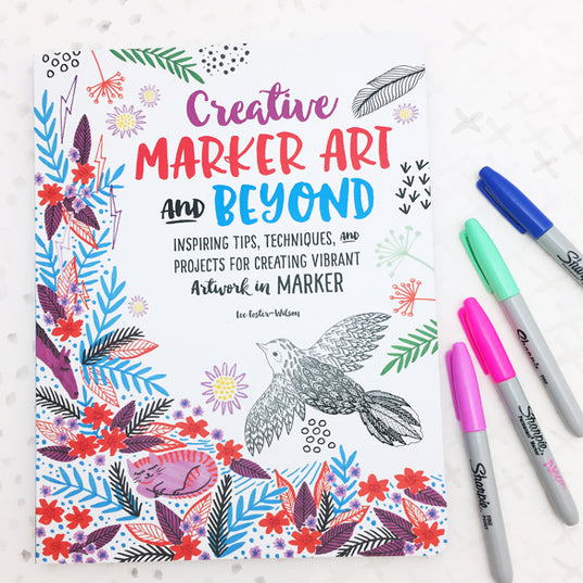**NEW!** Creative Marker Art and Beyond