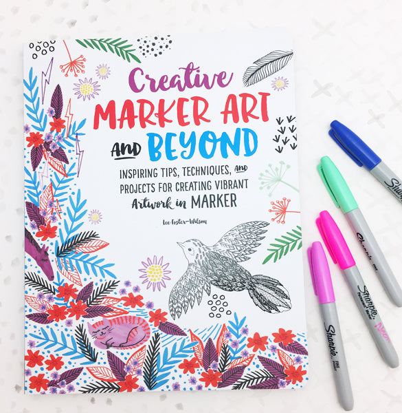 **MY BOOK!** Creative Marker Art and Beyond