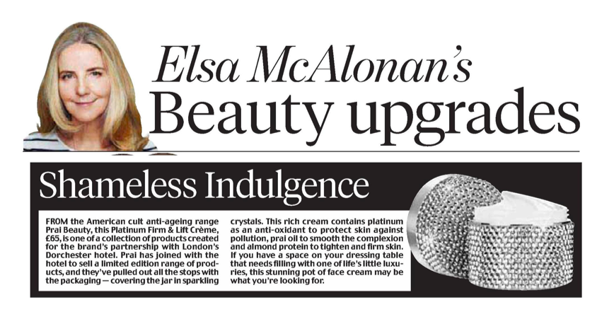 Elsa McAlonan's Beauty upgrades
