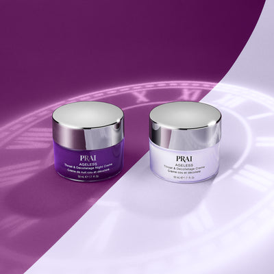 Ageless Throat Day and Night Creme Duo