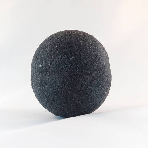 Pitch Black Activated Charcoal Bath Bomb - Yacht Bath and Body