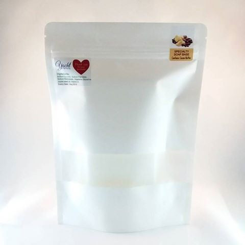 1 Lb Cocoa Butter Soap Base Blocks (~450g) - 100% Vegan - Yacht Bath and Body