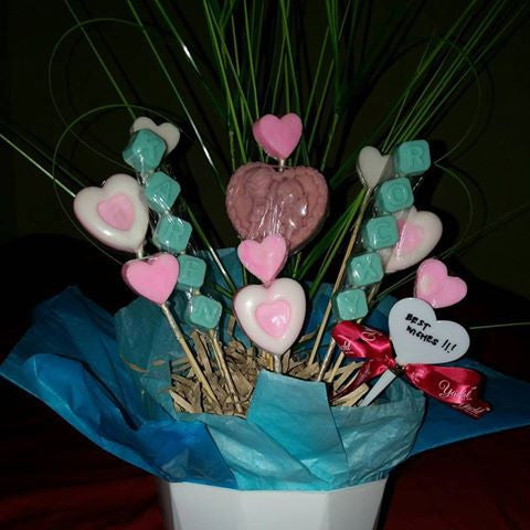 Customized Soap Bouquet for Rocky & Karen's Wedding - Yacht Bath and Body