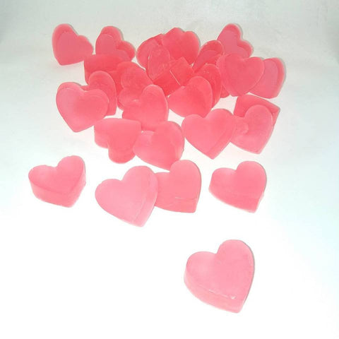 Customized Mini Hearts Valentine's theme soap, 170pcs - Yacht Bath and Body