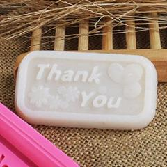 Customized Thank you glow in the dark soap for PUB Recreation Club Dinner & Dance, 500pcs