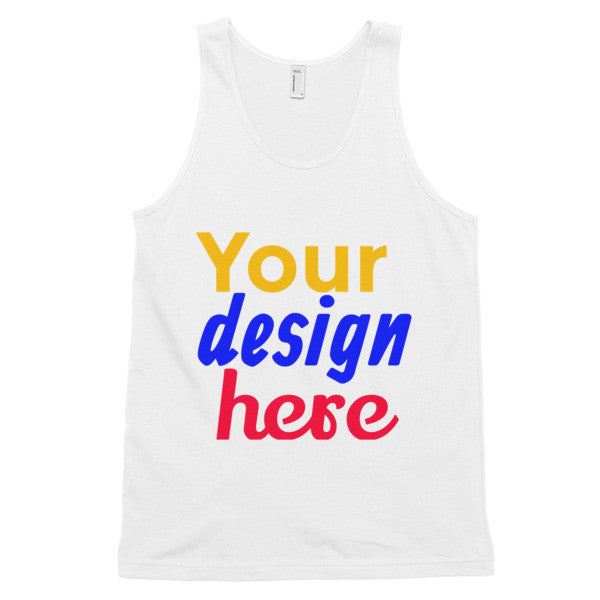 Customized Classic tank top (unisex) - Yacht Bath and Body