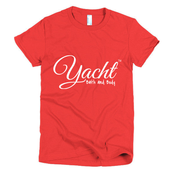 Short sleeve women's t-shirt - Yacht Bath and Body