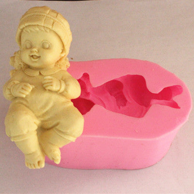 Girl soap mold - Yacht Bath and Body