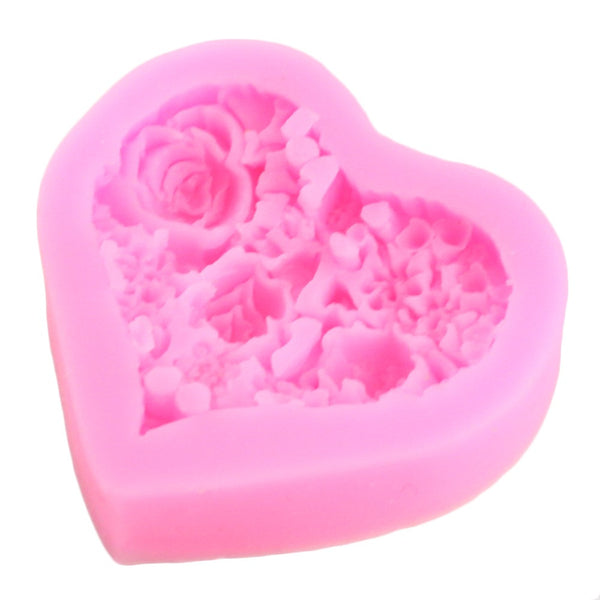 Rose heart soap - Yacht Bath and Body