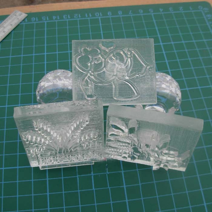 Customized Acrylic Soap Stamp - Yacht Bath and Body