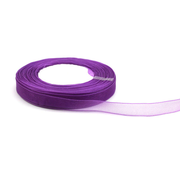 50 Yard of 12mm Organza Ribbons - Yacht Bath and Body