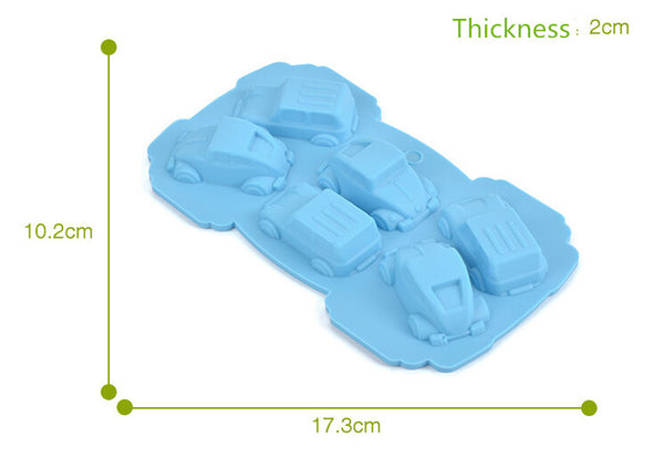 Car theme silicon mold - Yacht Bath and Body