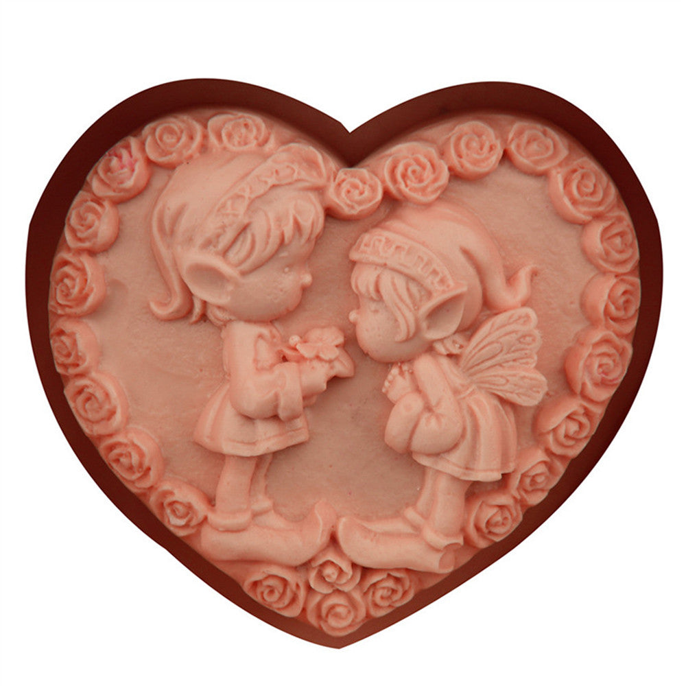 Boy and Girl love mold - Yacht Bath and Body