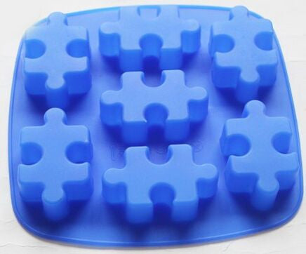 Puzzle mold, 7 cavity - Yacht Bath and Body