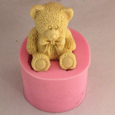 Bear soap mold - Yacht Bath and Body