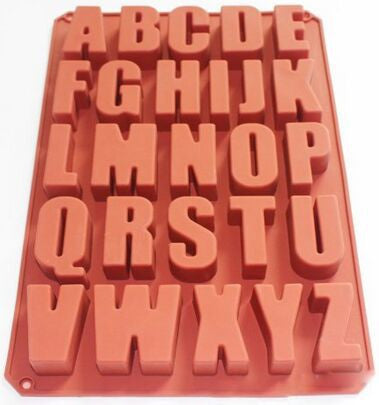 Alphabet mold - Yacht Bath and Body
